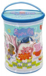 puzle peppa pig Bañera